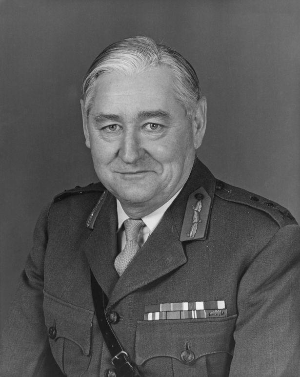 Field Marshal Edwin Noel Westby Bramall, Baron Bramall, KG, GCB, OBE, MC, JP, DL
